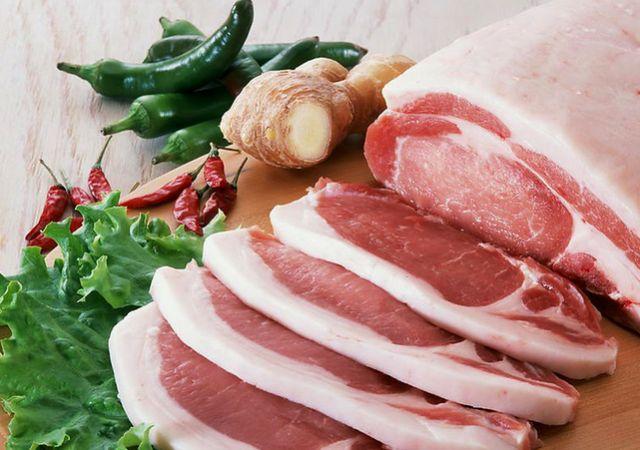 冷dong分割猪肉